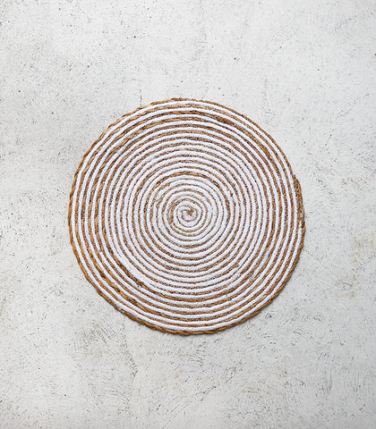 Round Placemat / Simply White