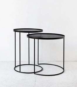 Round Side Tables / Nest of Two