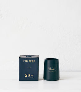 SOH / Navy Matte Glass / Fig Tree