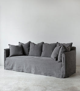 Slipcover Sofa / 220cm / Smokey Grey
