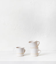 Wonki Ware / Straight Mug / White Beach Sand