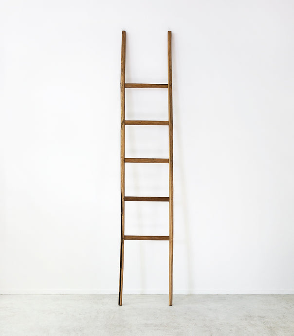 'Craft District' Teak Ladder