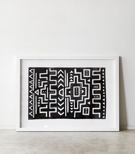'The Fort'  / Framed Print / 114cn x 84cm