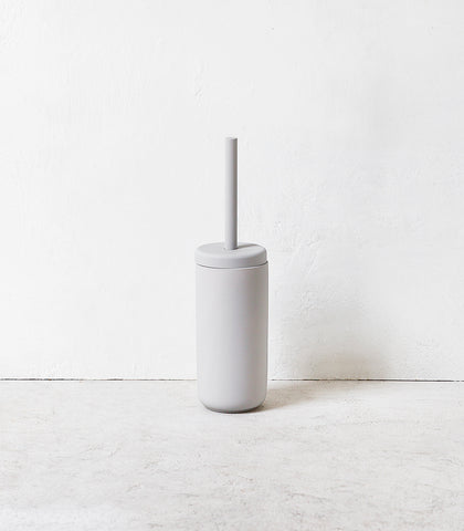 Toilet Brush & Holder / Soft Grey