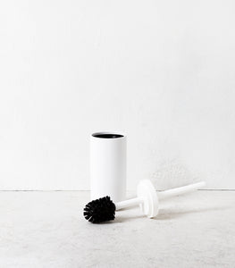 Toilet Brush & Holder / White