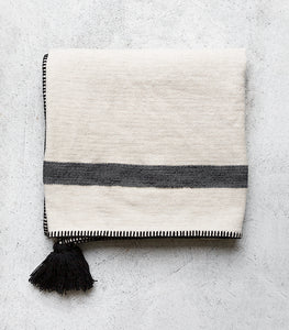 Turkish Kadir Throw / Cotton-Linen