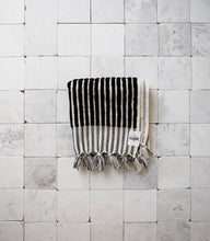 'Wanderer' Black Stripe Hand Towel