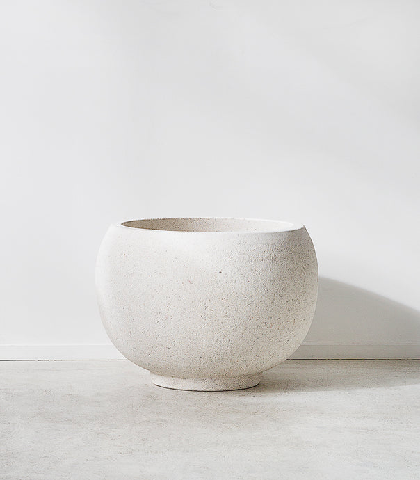 Whitestone / Ball Cut Top Pot / Large