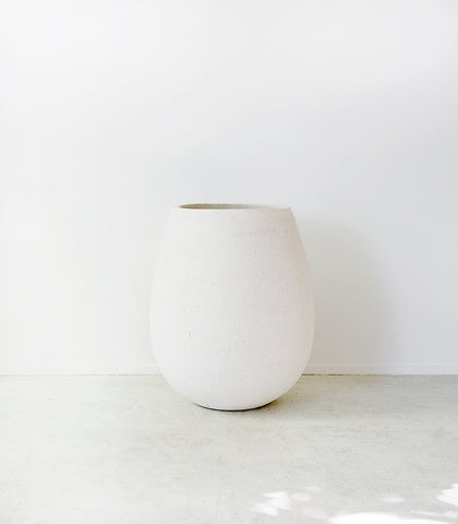 Whitestone / Sagger Pot / 63cm / Large