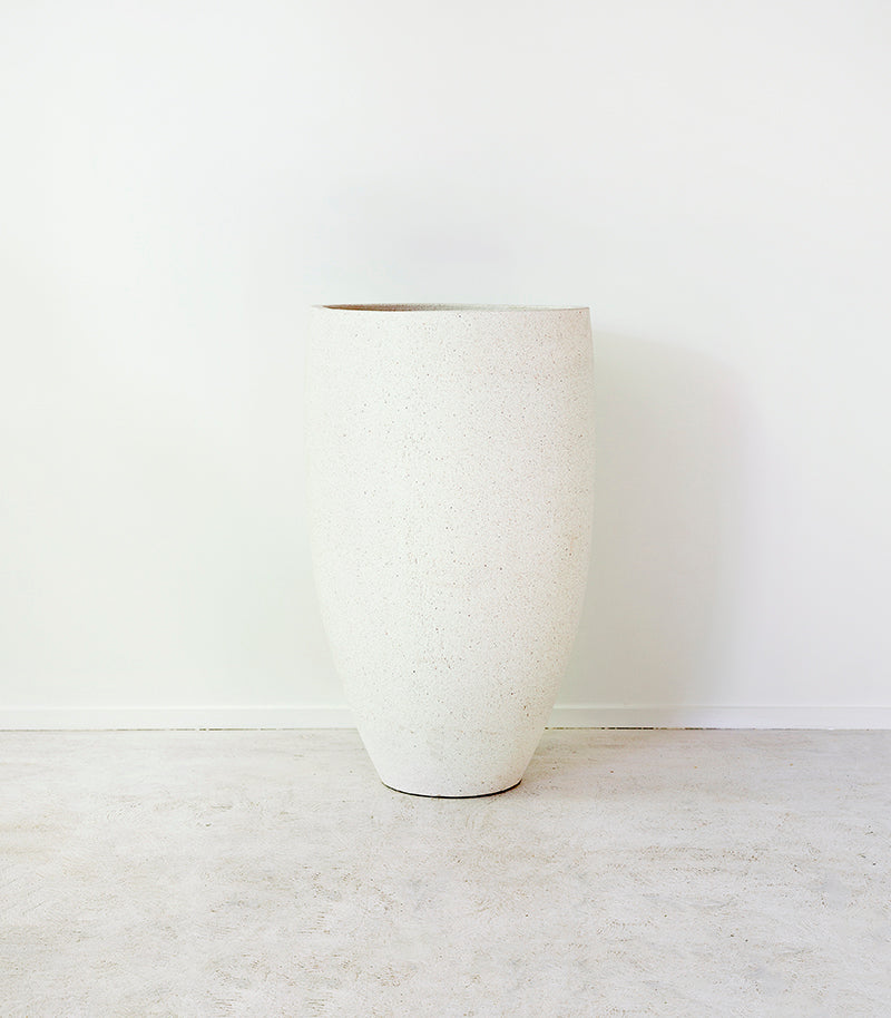 Whitestone / Tall Egg  Pot / Large