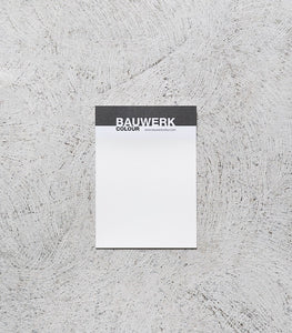 Bauwerk / 250 ml Sample Pot / WHITEWASH