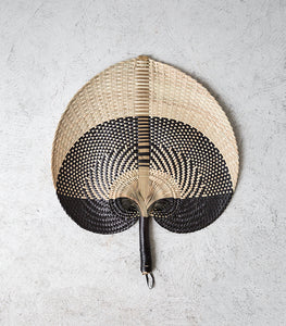 Woven Hand Held Fan / Large