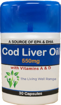 cod liver oil with EPA and DHA acids at asterwell.com