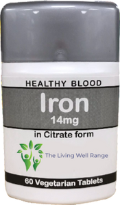 Iron 14mg 80 tablets