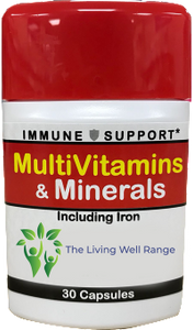 multivitamins including iron immune support