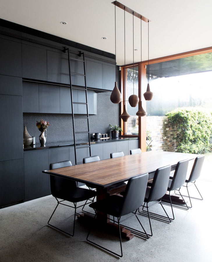 Architects Used Black To Give This Interior A Bold Appearance