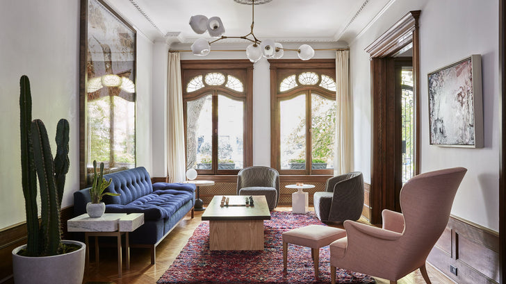 Park Slope, reviving a 1901 townhouse—with a contemporary twist