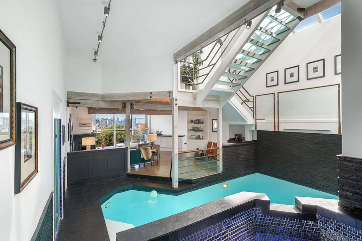Castro home with an indoor pool