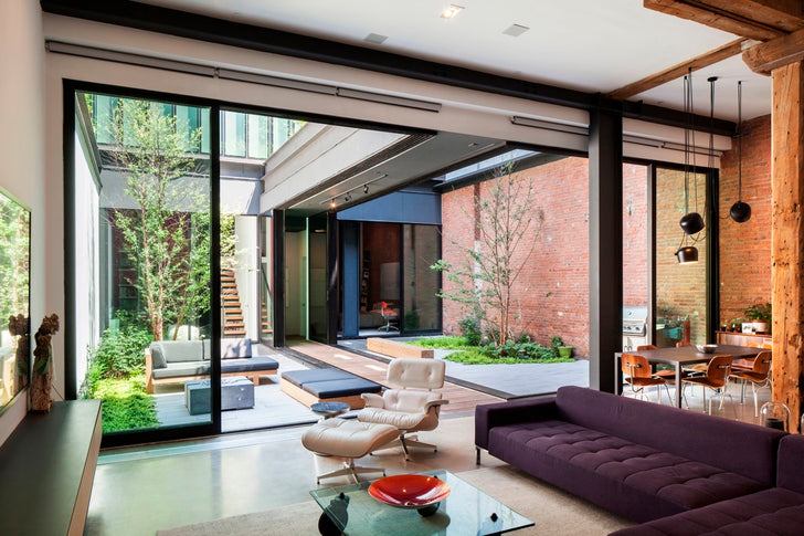 Modern Home Interior Courtyard Design Ideas