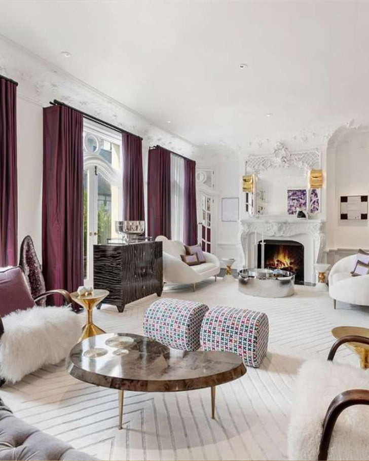 See How Jonathan Adler Completely Transformed This Nob Hill Mansion for Sale