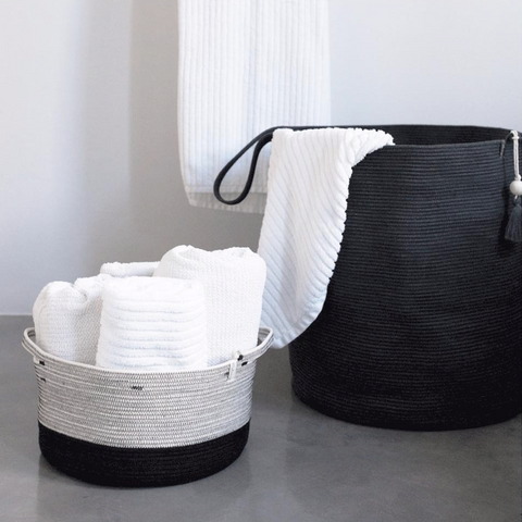cotton floor basket