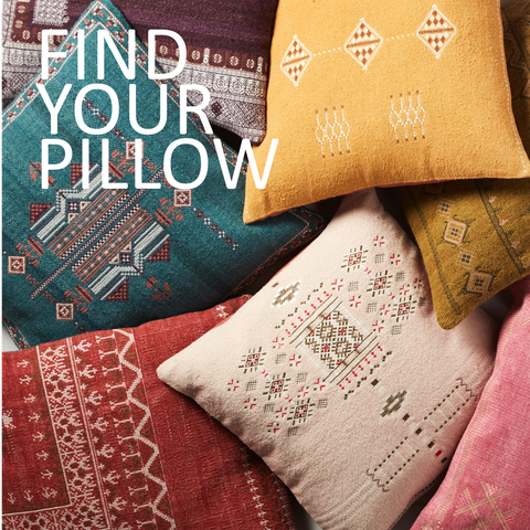 FIND YOUR PILLOW