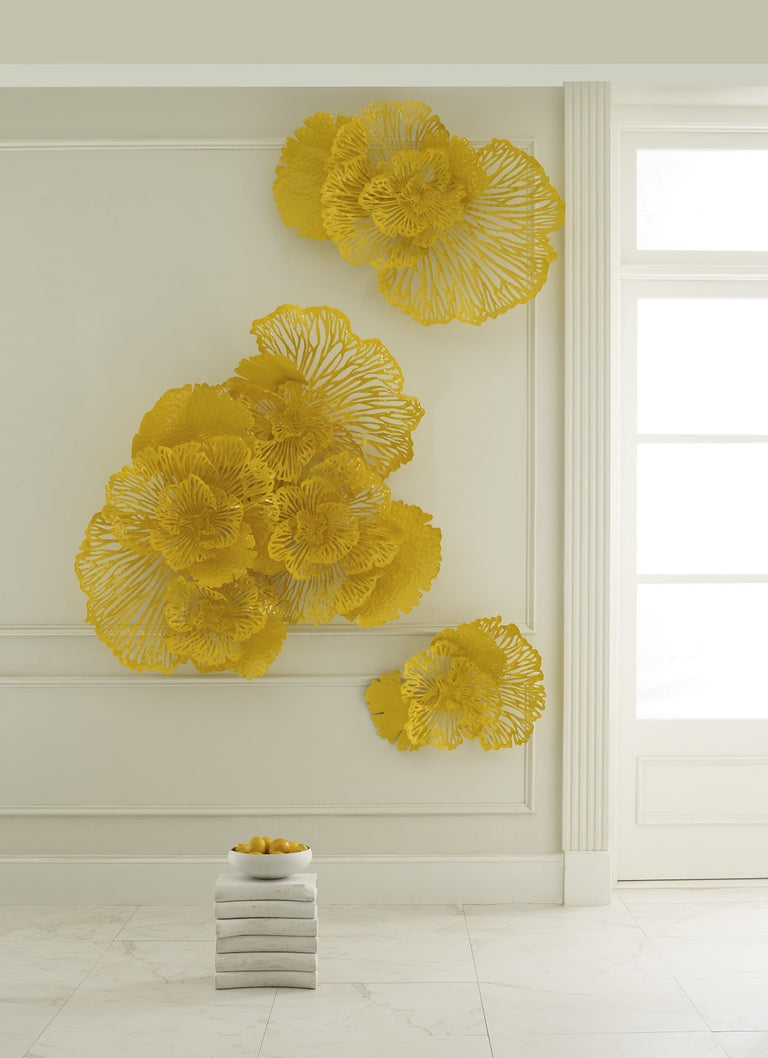 FLOWER ( 4 ) WALL DECOR