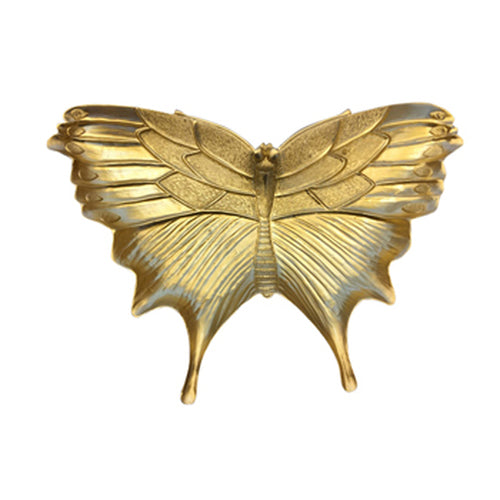 GOLD BUTTERFLY PLATE