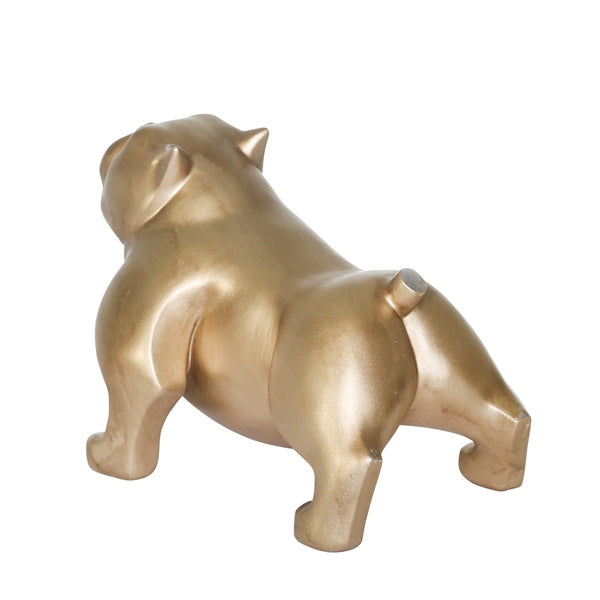 GOLD BULLDOG 10""