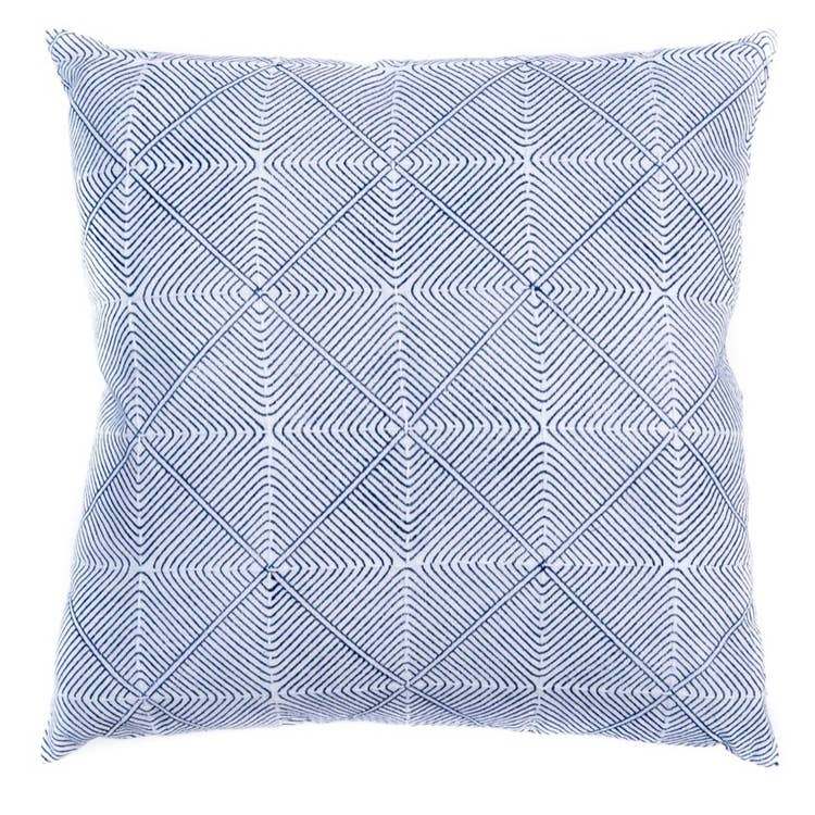 INDIGO PRISM THROW PILLOW (INDIA)