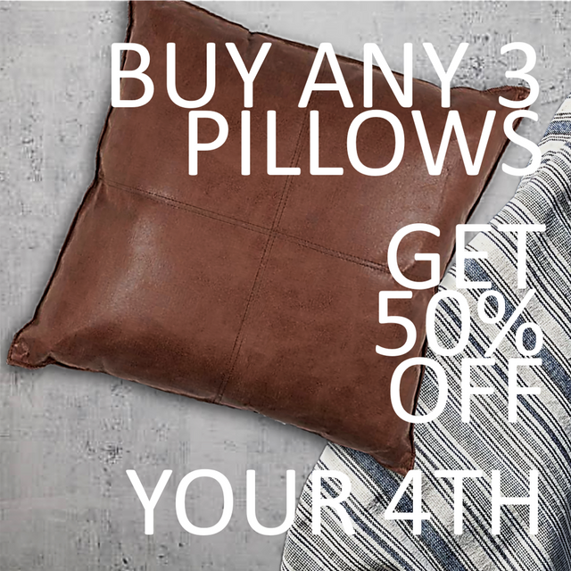 50% OFF YOUR 4TH PILLOW
