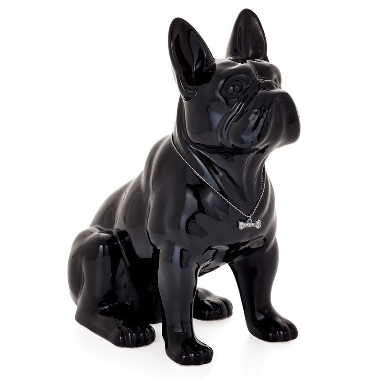 FRENCH BULLDOG, BLACK 12""