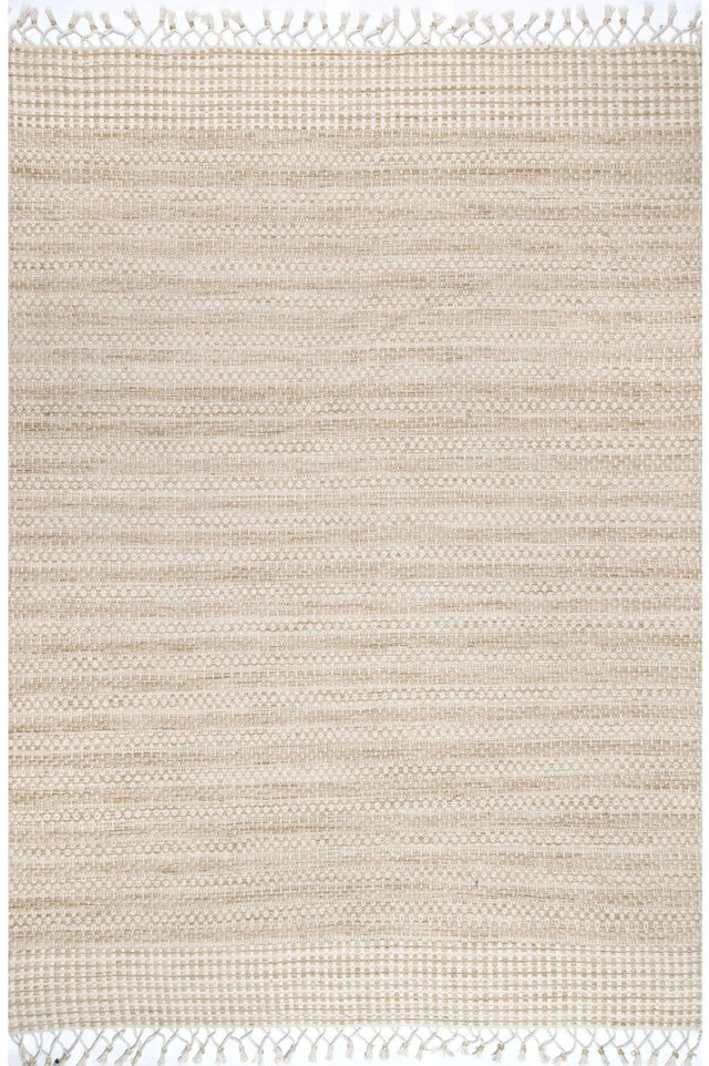 WOOL STRIPED WOOL FLATWEAVE