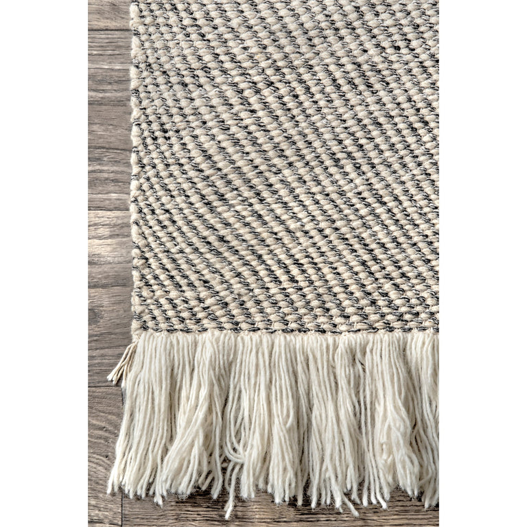 LOISE STRIPED FRINGES