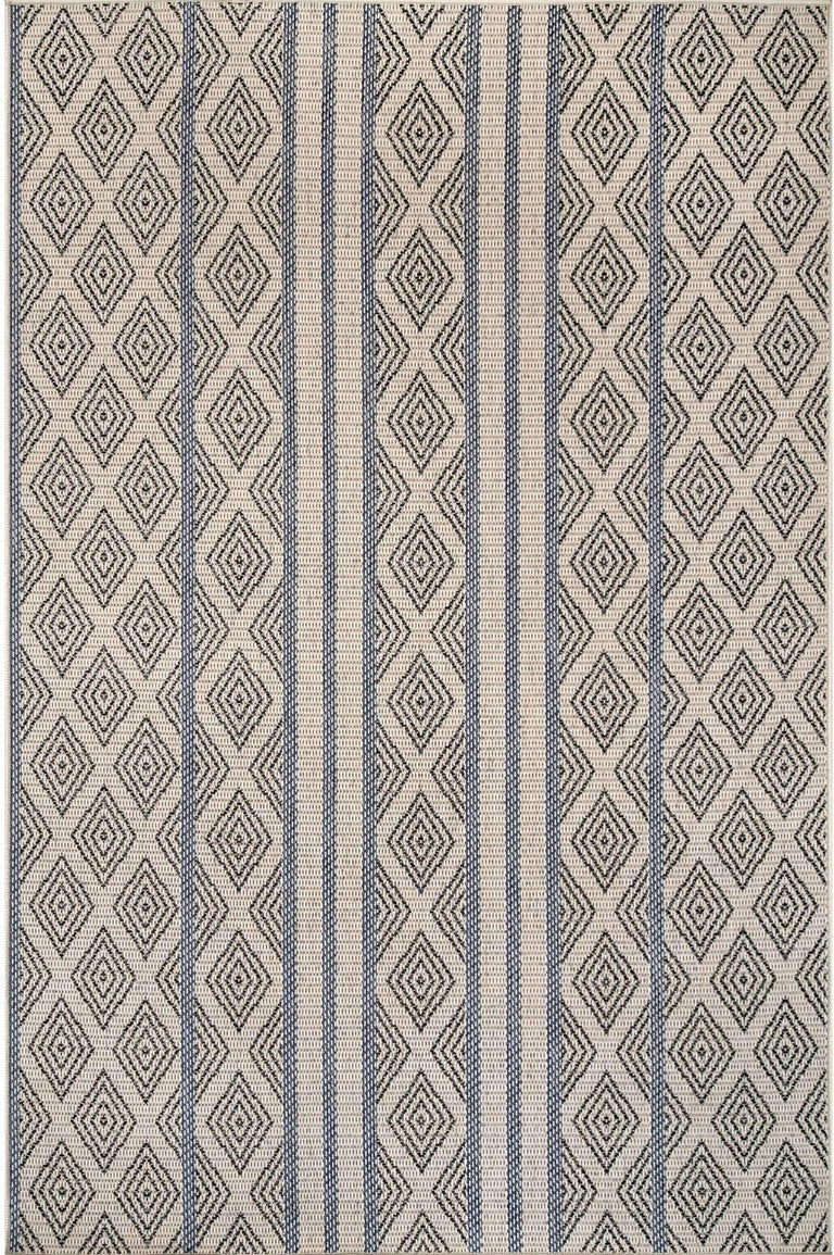 GREY TRELLIS STRIPE