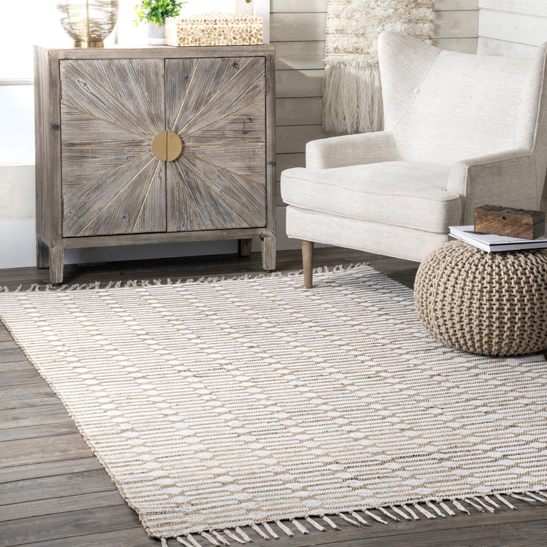 JUTE PRINTED WINGED TRELLIS ( 2 )