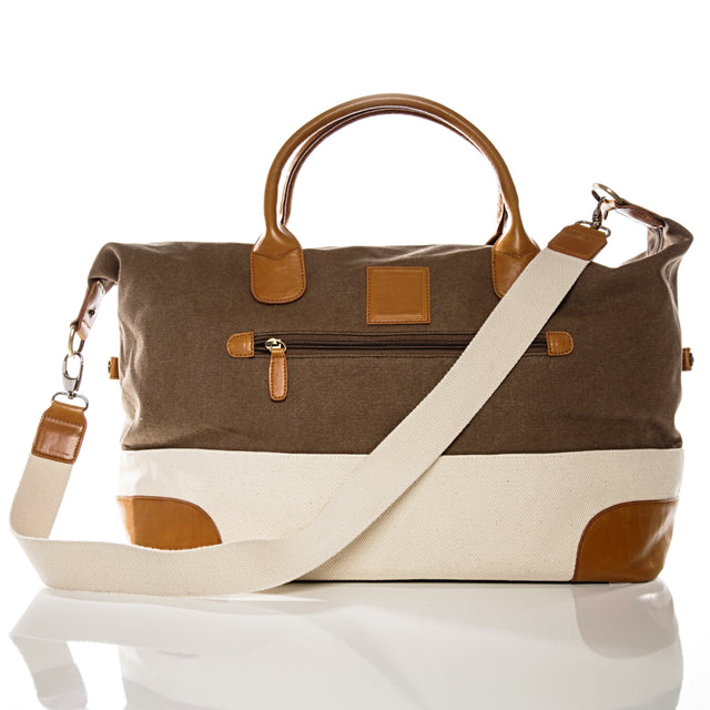 BROWN & IVORY TOUR BAG