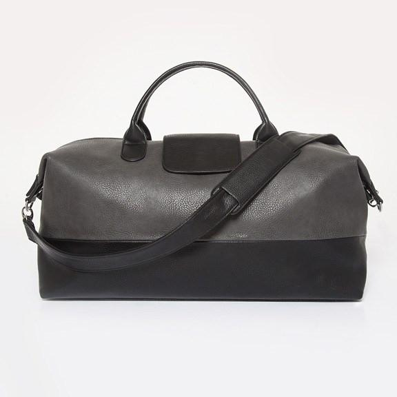 ALPHA VEGAN GREY DUFFLE