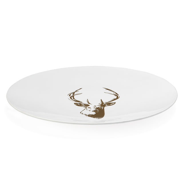 "STAG GOLD PLATTER, 16"" LARGE"