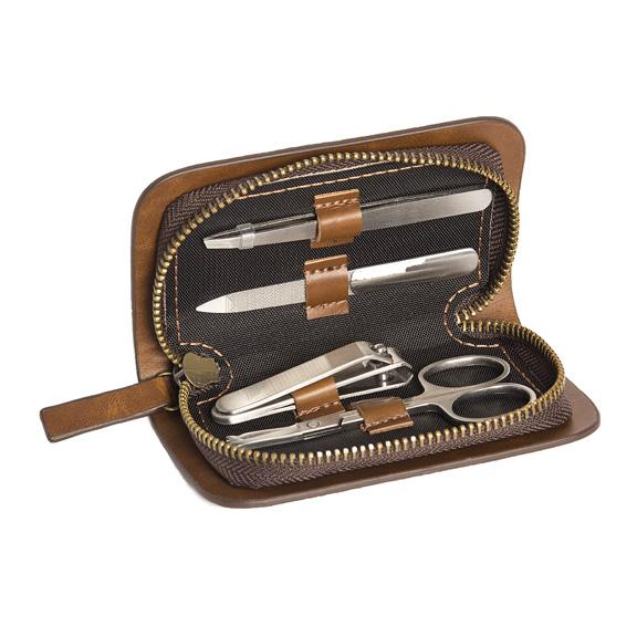 VEGAN LEATHER MANICURE SET