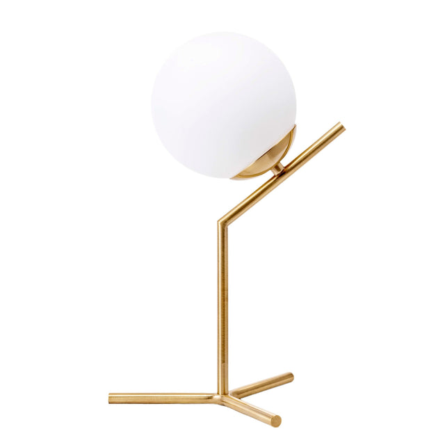 GOLD IRON TABLE LAMP - 9