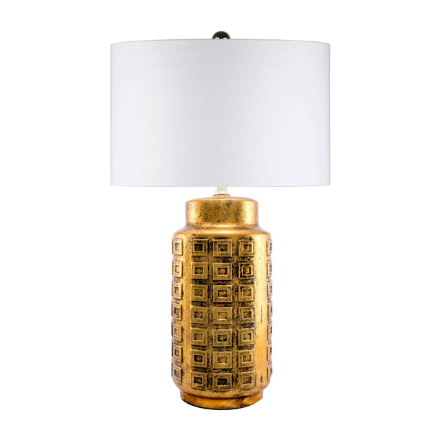 GOLD CERAMIC TABLE LAMP - 27