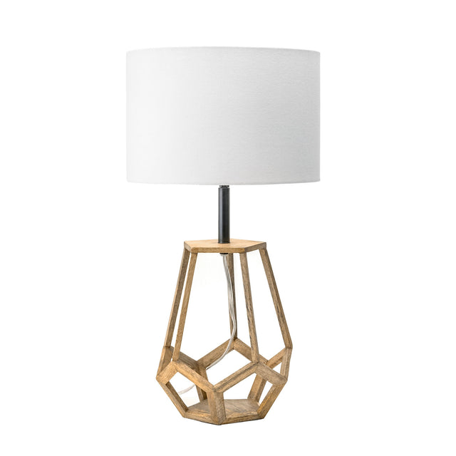 WOOD TABLE LAMP - CHELSEA 23 (INDIA)