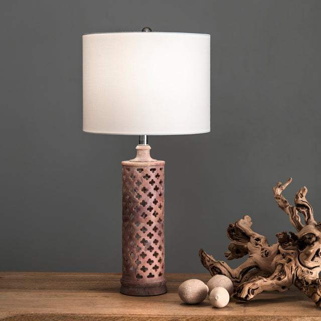 MARBLE TABLE LAMP - 24