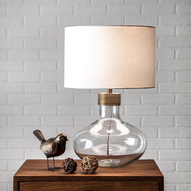 GLASS WIRE TABLE LAMP - 15