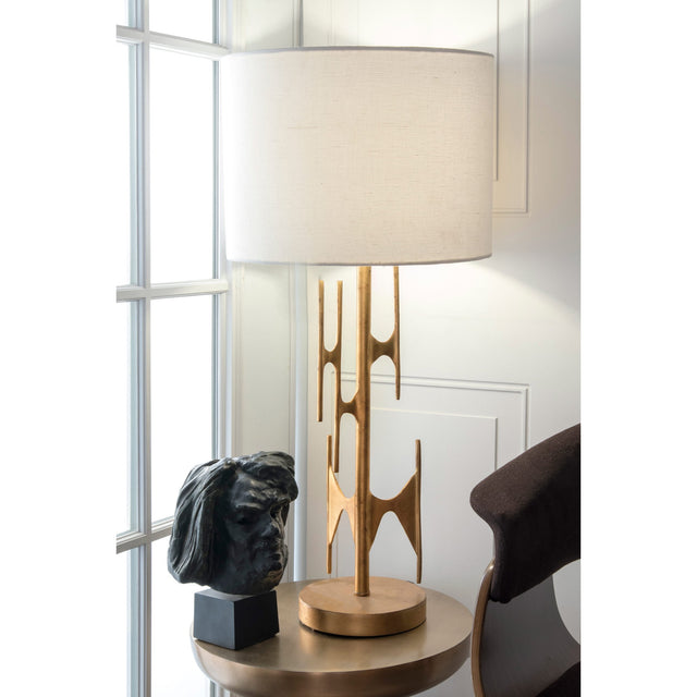 GOLD METAL TABLE LAMP - 30
