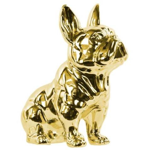 FRENCH BULLDOG, GOLD 9""