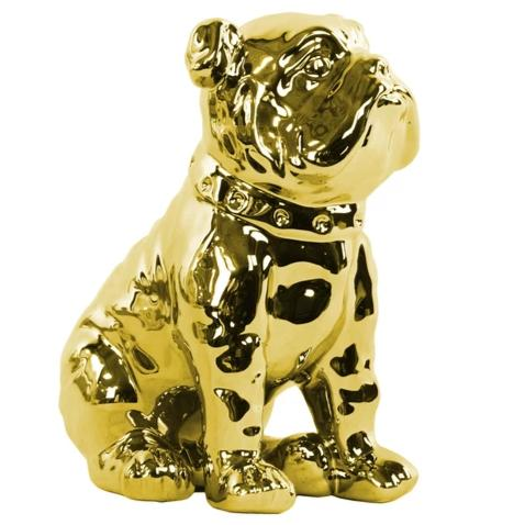 ENGLISH BULLDOG, GOLD 8""