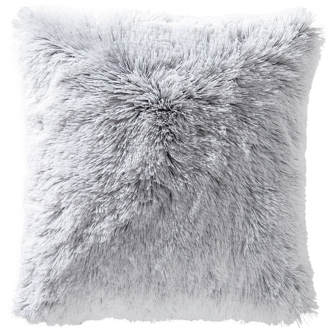 OMBRE FRINGE VELOUR THROW PILLOW