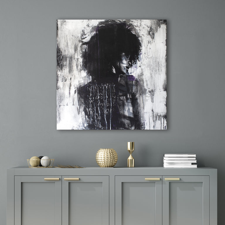 Shadow Girl by Addison Jones | stretched canvas wall art